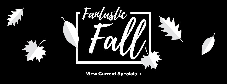 Fantastic Fall Specials!
