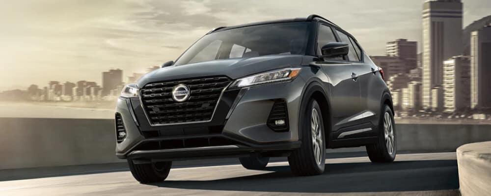 Gray 2021 Nissan Kicks