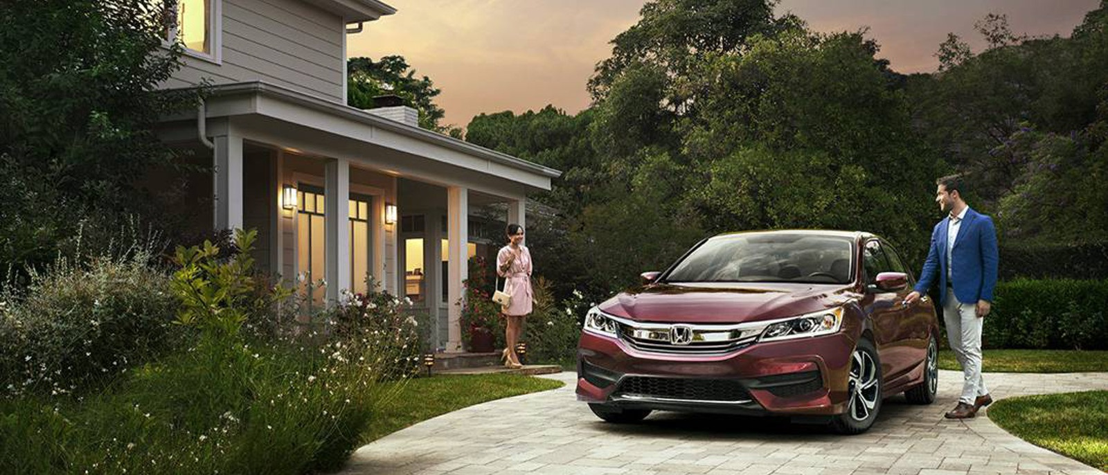 2016 Honda Accord Sedan Red Front