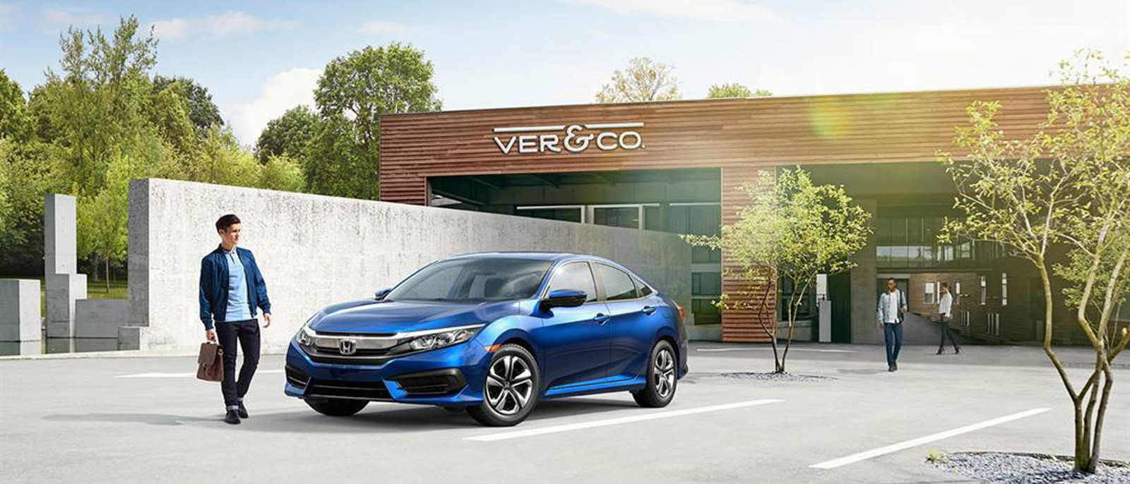 2016 Honda Civic Sedan Blue