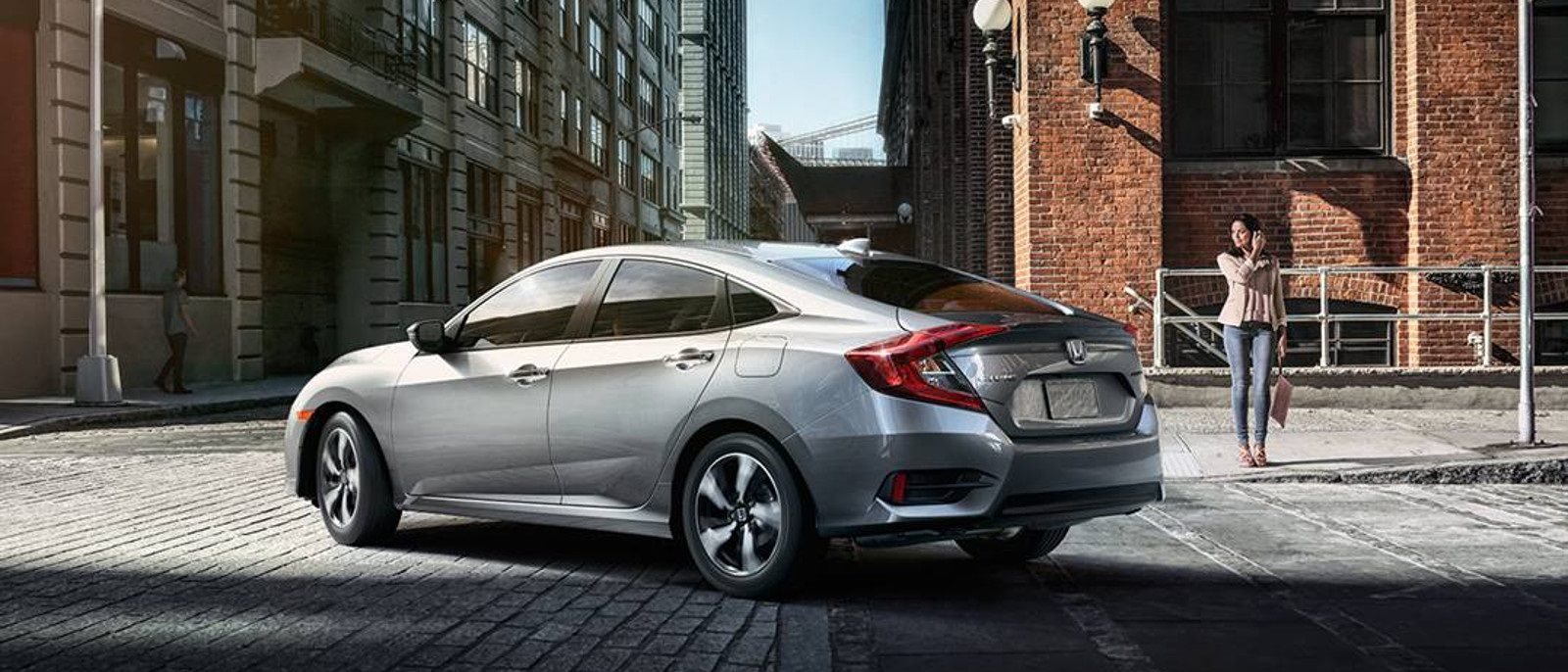 2016 Honda Civic Sedan Gray