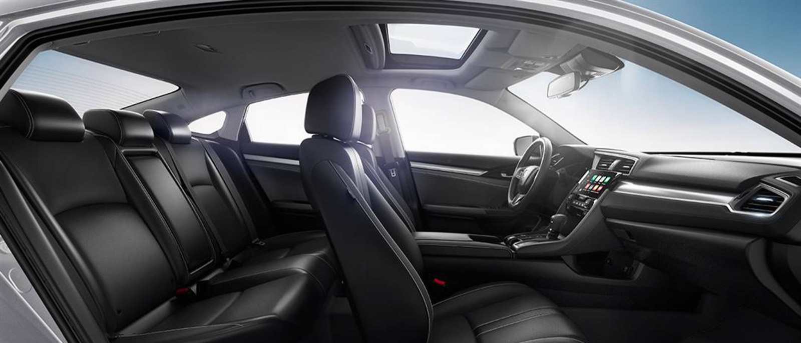 2016 Honda Civic Sedan Seats