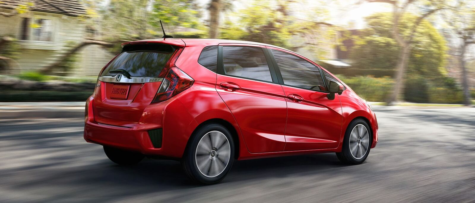 2016 Honda Fit red