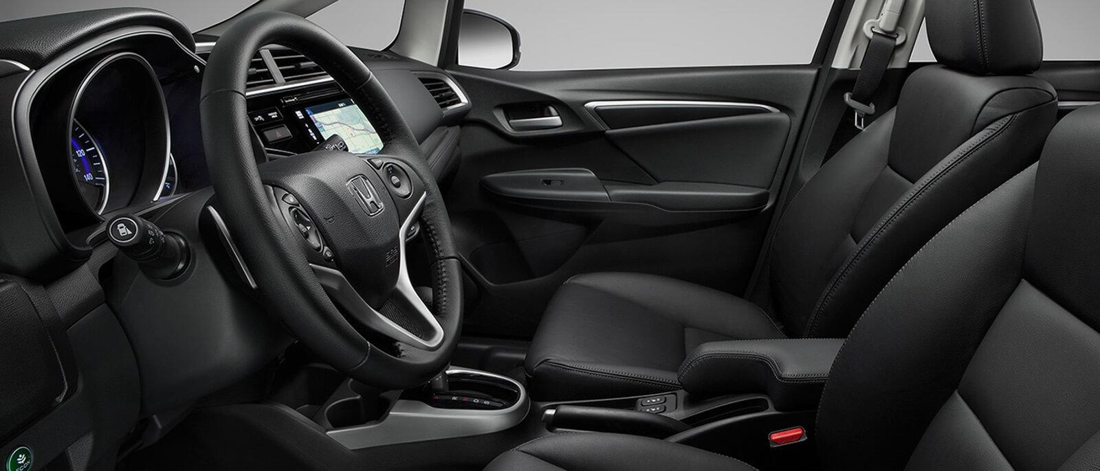 2016 Honda Fit interior