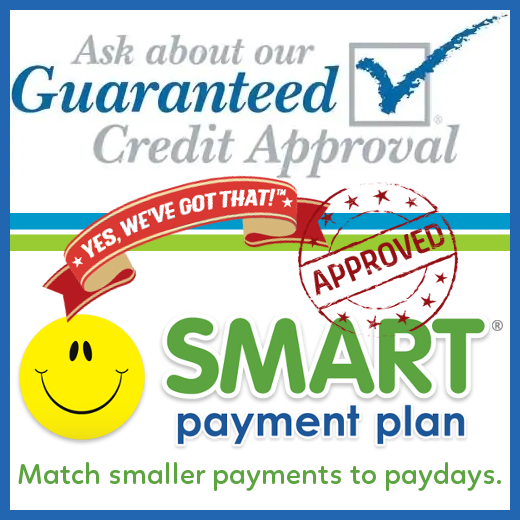 Ask about our Guaranteed Credit approval badge