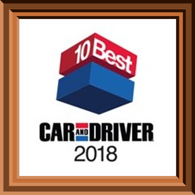 Car and Driver 2018 10 Best Award Glendale, WI