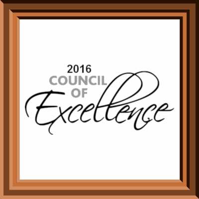 2016 Council of Excellence Award Glendale, WI