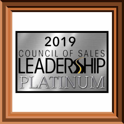 2019 Honda Council of Sales Platinum