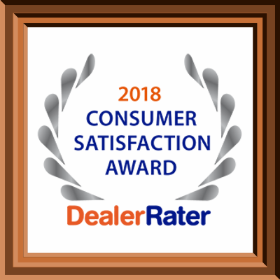 2018 DealerRater Satisfaction Award Glendale, WI