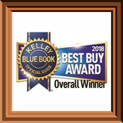 2018 KBB Best Buy Award Overall Winner Glendale, WI