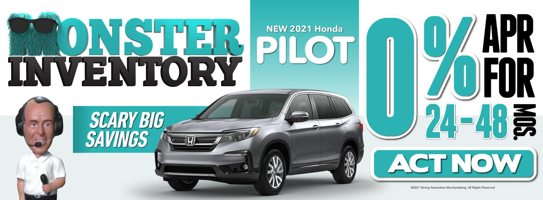 New 2021 Honda Pilot - 0% APR for 24-48 Months — ACT NOW