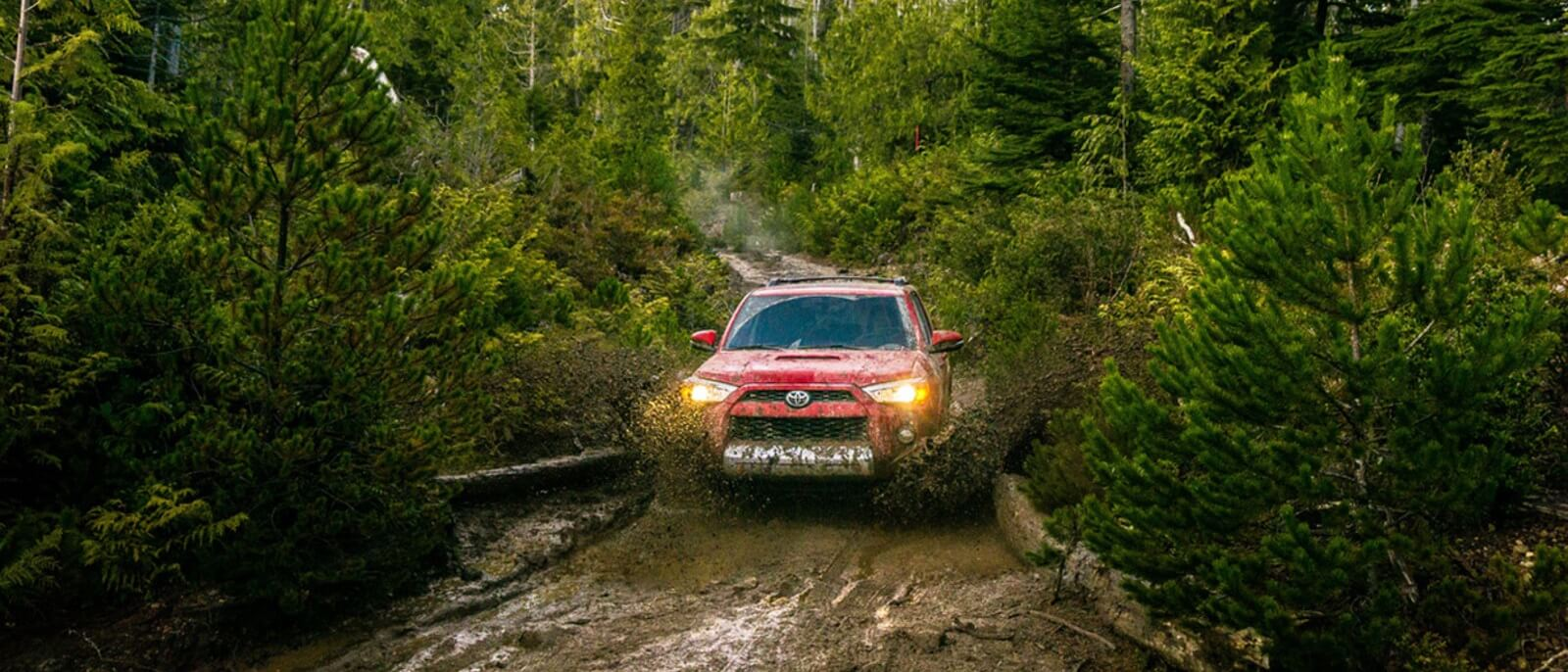 2016 Toyota 4Runner mud