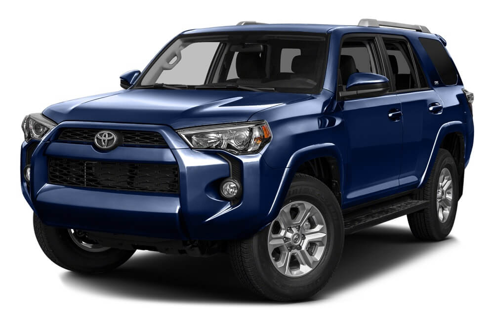 2016 Toyota 4Runner on white