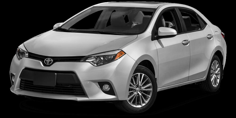 2016 Toyota Corolla light grey exterior