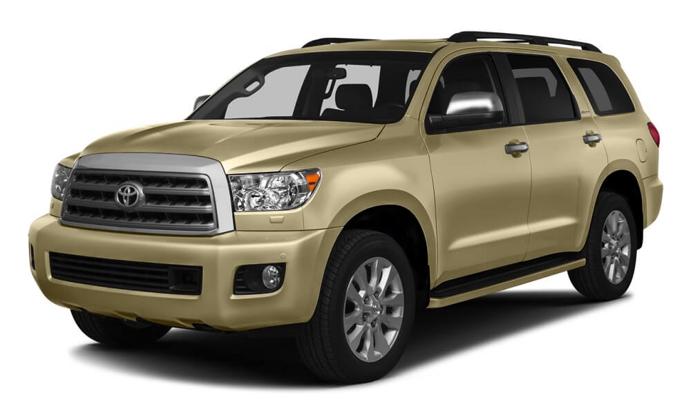2016 Toyota Sequoia tan