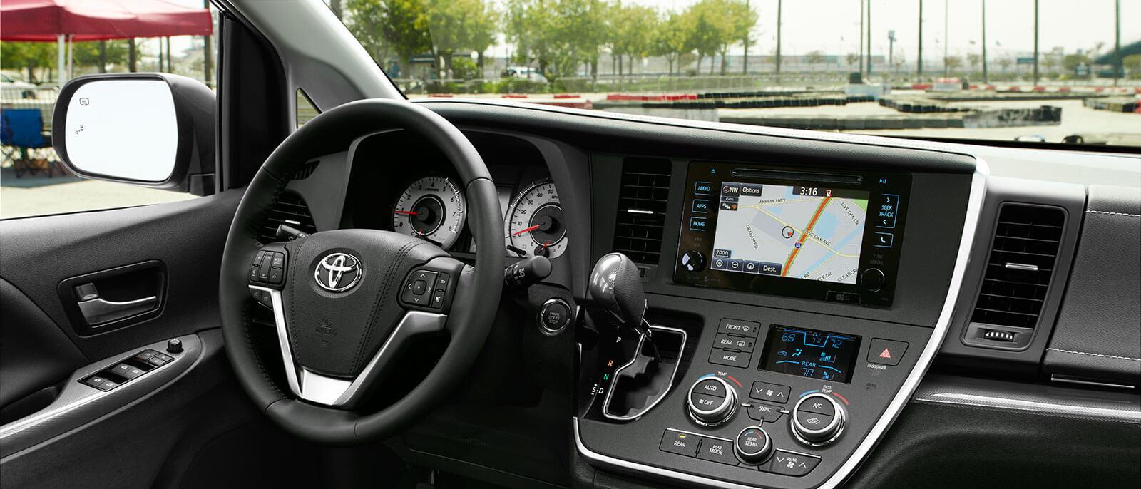 Wonderful 2016 Toyota Sienna Interior ...