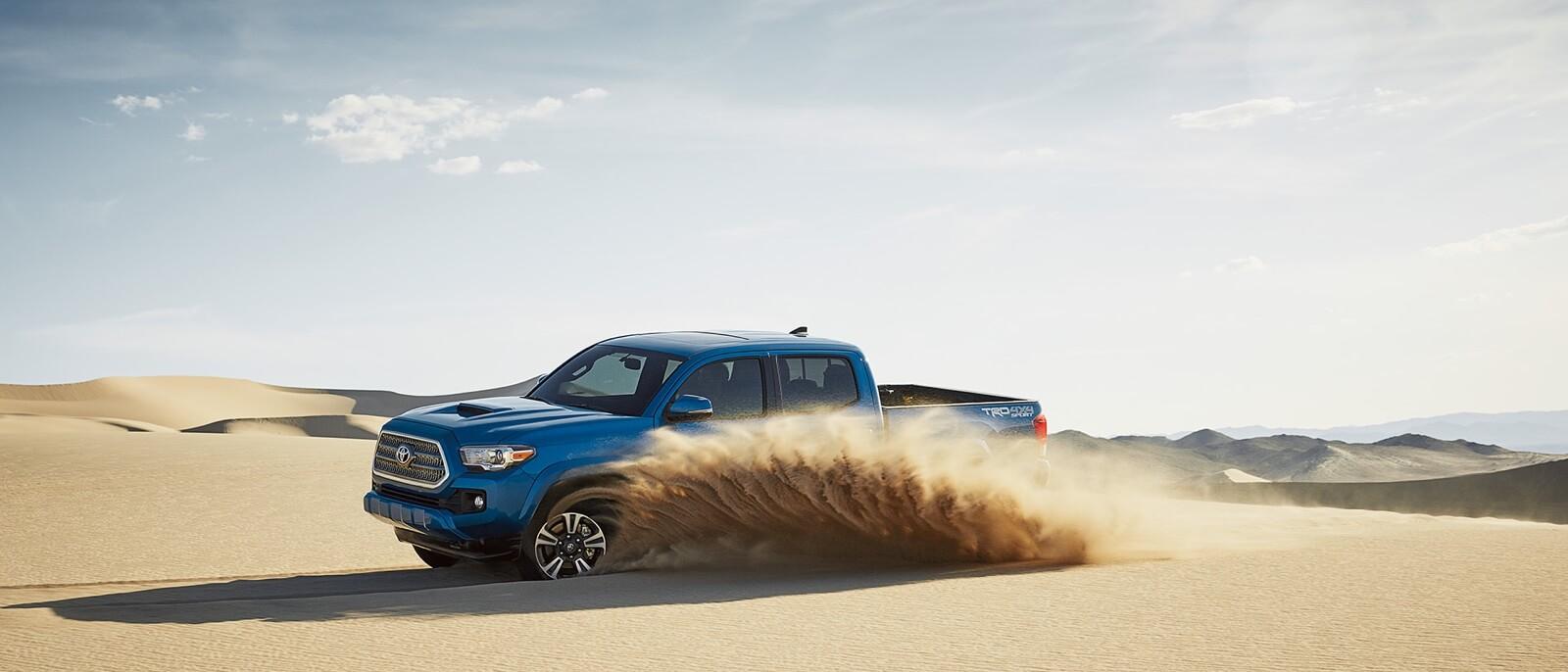 2016 Toyota Tacoma blue exterior