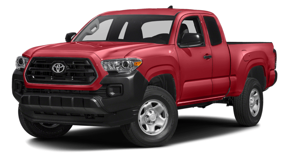 2016 Toyota Tacoma red exterior