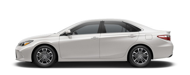 2017 Camry Blizzard Pearl