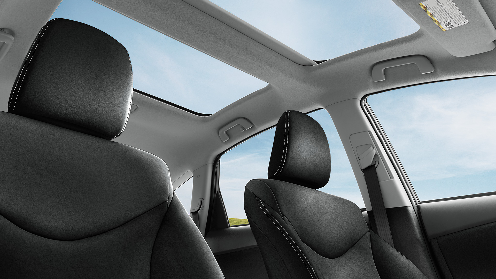 2016 Toyota Prius V sunroof