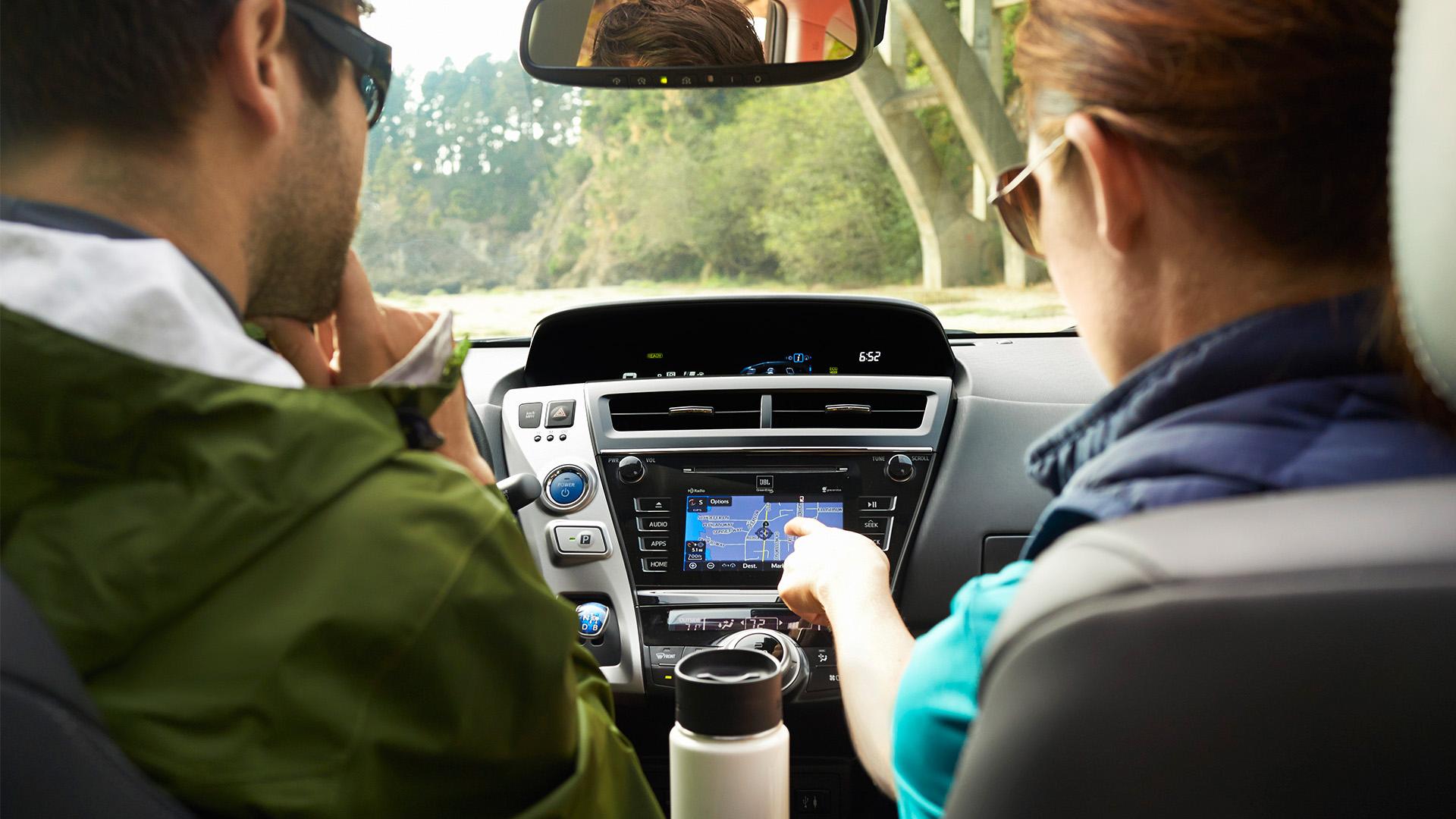 2016 Toyota Prius V navigation