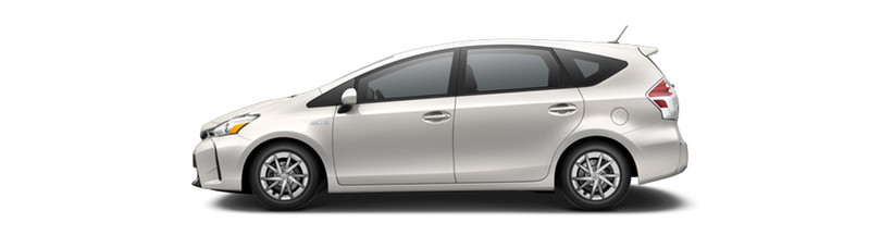 2016 Toyota Prius v BLizzard Pearl