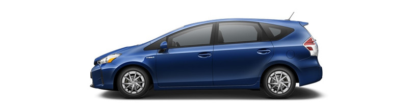 2016 Toyota Prius v Blue Ribbon Metallic