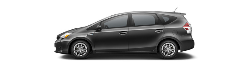 2016 Toyota Prius v Classic Grey Metallic
