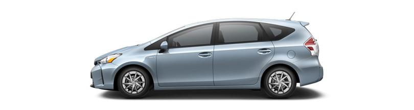 2016 Toyota Prius v Clear Sky Metallic