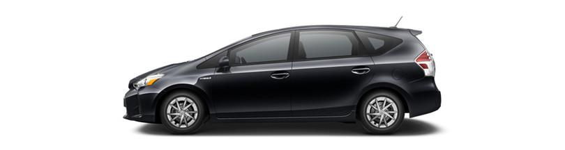2016 Toyota Prius v Midnight Black Metallic