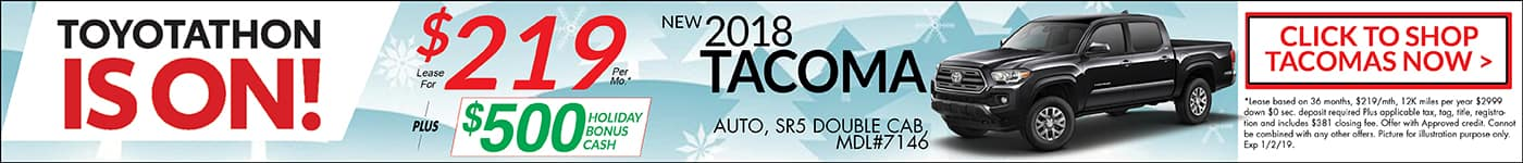 2018 Toyotathon Tacoma