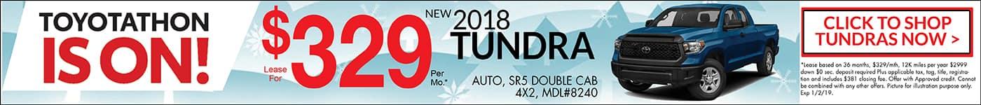 2018 Toyotathon Tundra