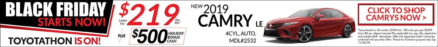 Camry November Special Toyotathon