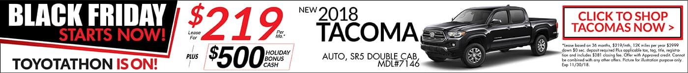Tacoma November Special Toyotathon