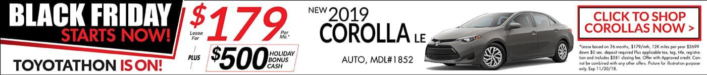 Corolla November Special Toyotathon