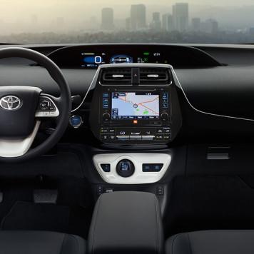 2017 Toyota Prius Dash