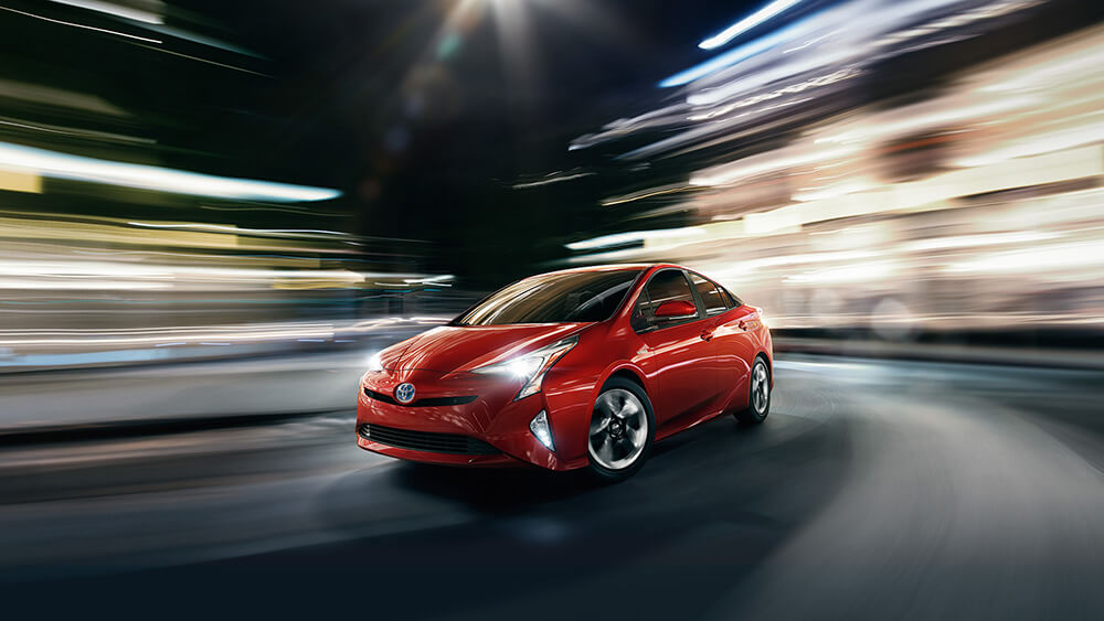 2017 Toyota Prius Red
