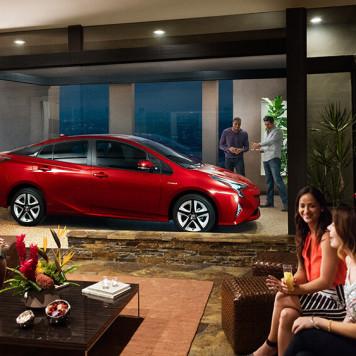 2017 Toyota Prius Parked