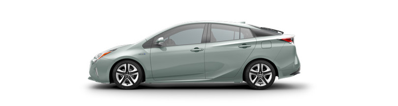 2017 Toyota Prius side