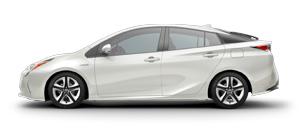 2017 Toyota Prius White