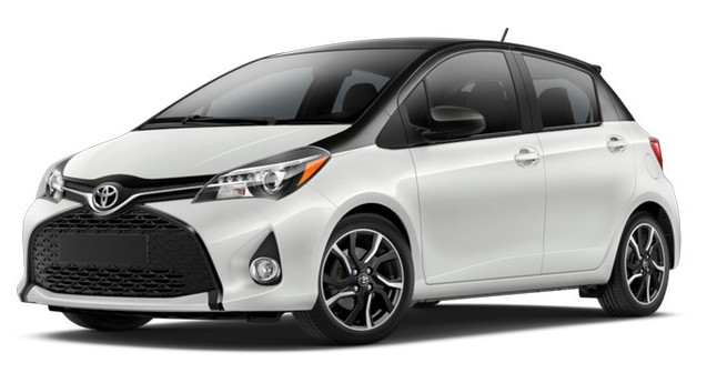 2017 Toyota Yaris CRUSHED ICE:BLACK SAND PEARL