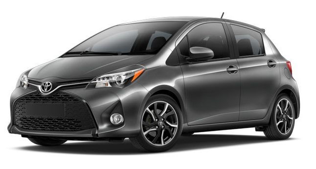 2017 Toyota Yaris Magnetic Gray Metallic