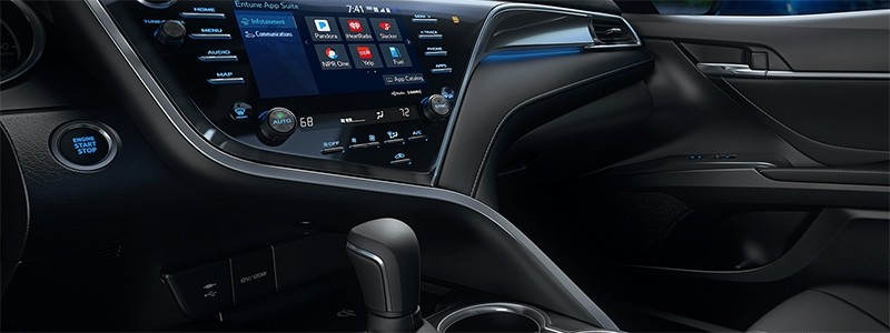 Interior Features 2018 Camry