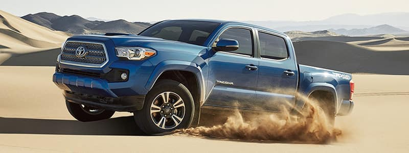 2017 Tacoma Exterior Features