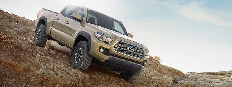 Exterior Features 2017 Tacoma