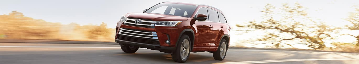 New 2018 Toyota Highlander South Carolina
