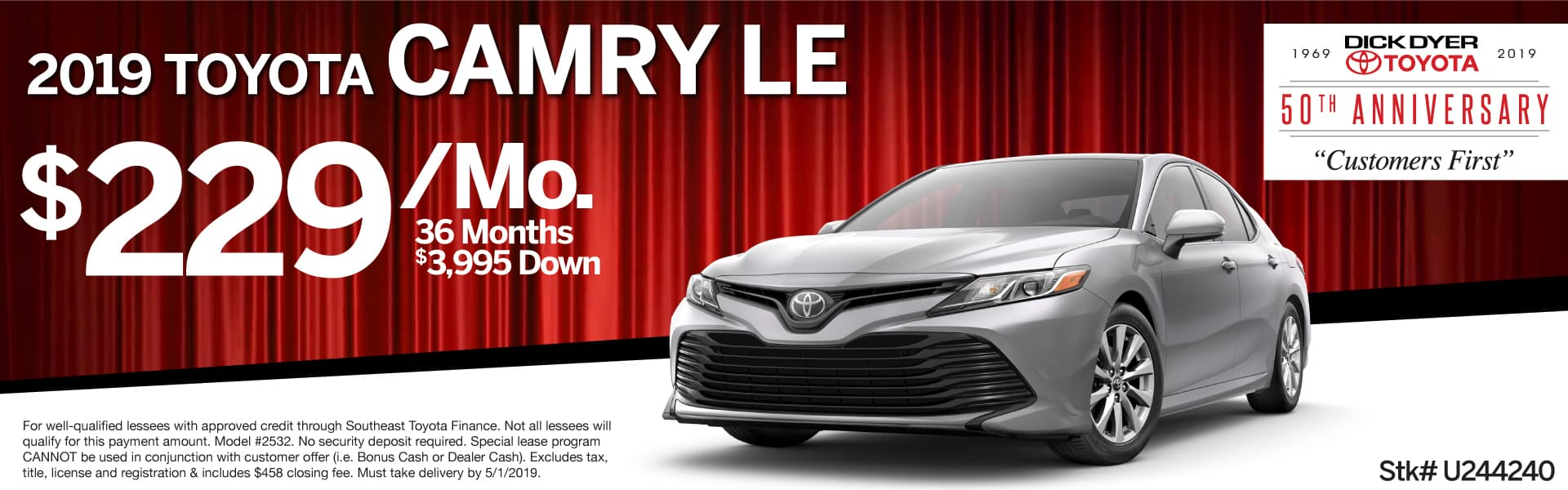 New Toyota Camry Lease Columbia