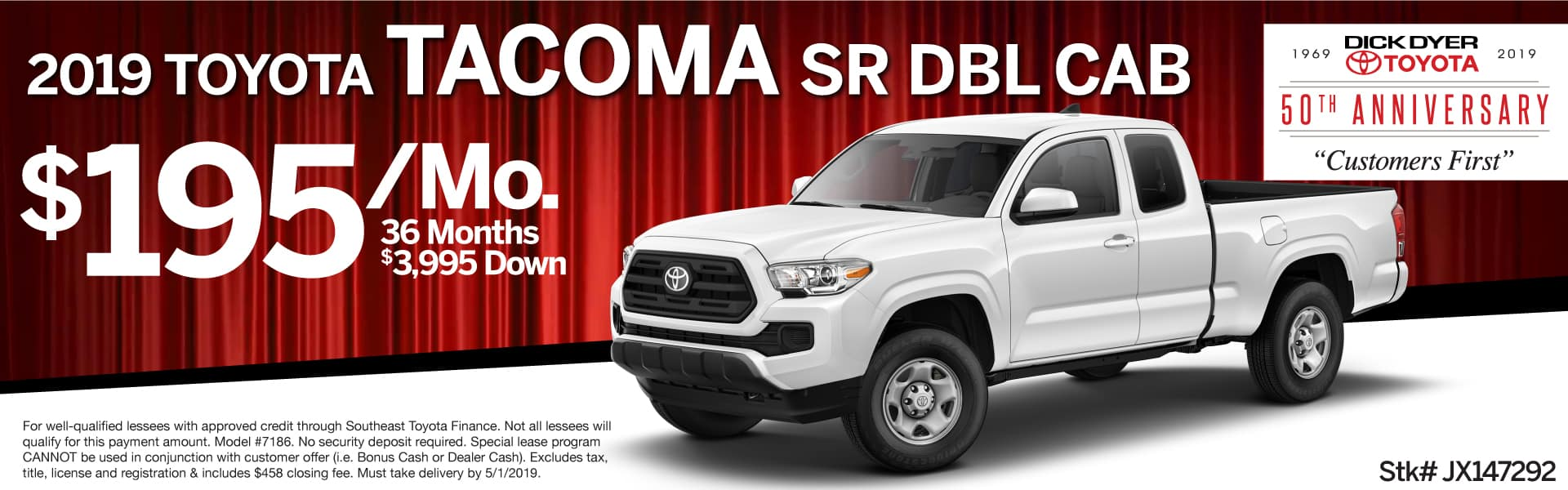 New 2019 Toyota Tacoma Lease Columbia