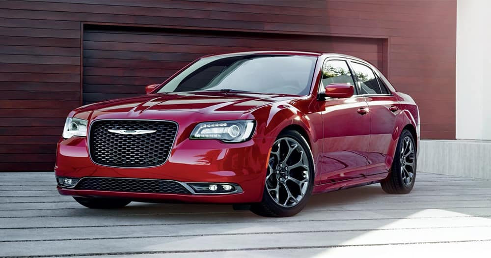 Red 2018 Chrysler 300