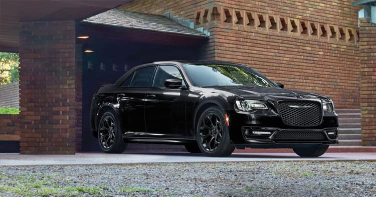 2018 Black Chrysler 300